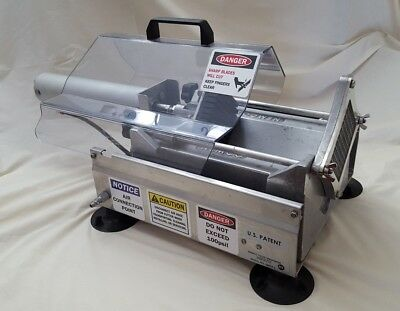 Nemco 56455-2 Extra Large Potato Cutter w/ .38-in Cut french fry maker air-power