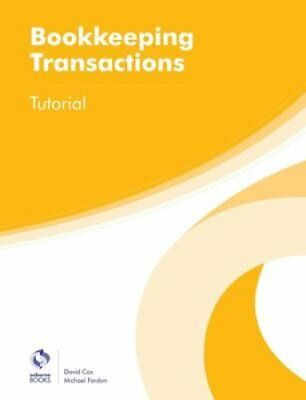 Bookkeeping Transactions Tutorial by David Cox 9781909173651 (Paperback, 2016)