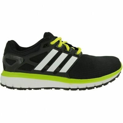 quality design 0f20d c4f43 Adidas Energy Cloud Wtc M Men s Running Shoes Black White Lime Green BA7525  NEW