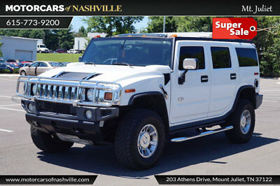 2005 Hummer H2 Base Sport Utility 4-Door '05 HUMMER H2 4WD AUTO NAV REAR DVD AIR SUSPENSION NEW TRANSMISSION FRESH TRADE