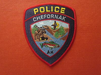 Collectible Alaska Police Patch Chefornak New