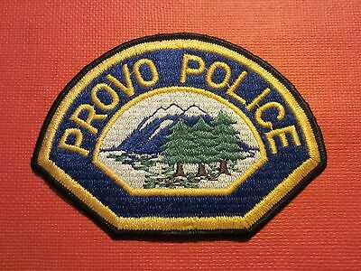 Collectible Utah Police Patch Provo Vintage Unused