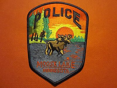 Collectible Minnesota Police Patch,Moose Lake, New