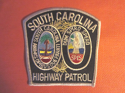 Collectible South Carolina Highway Patrol Patch New