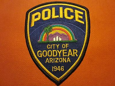 Collectible Arizona Police Patch, Goodyear, New