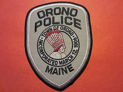 Collectible Maine Police Patch, Orono, New