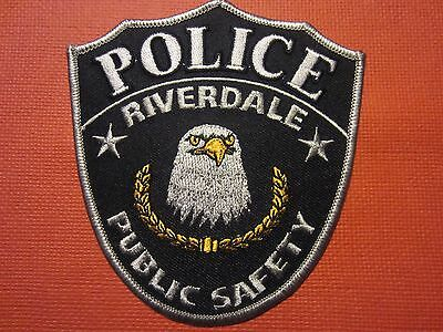 Collectible Utah Police Patch  City of Riverdale