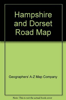 Hampshire and Dorset Road Map by Geographers' A-Z Map Company Sheet map, folded