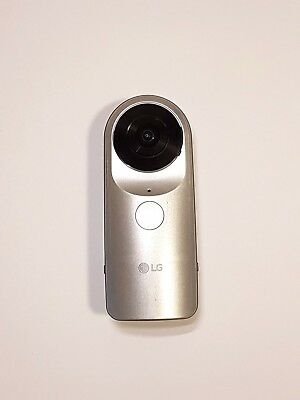 LG 360 CAM Spherical Camera 2K Video wide angle 13MP Photos LGR105