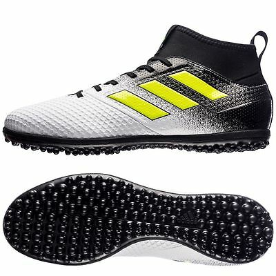 Adidas Men's ACE Tango 17.3 TF Soccer Turf Running White Ftw/Elect BLK S77082