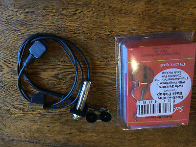 Schatten Rock-A-Billy Double bass pickup RB-2 upright Dual pickup system