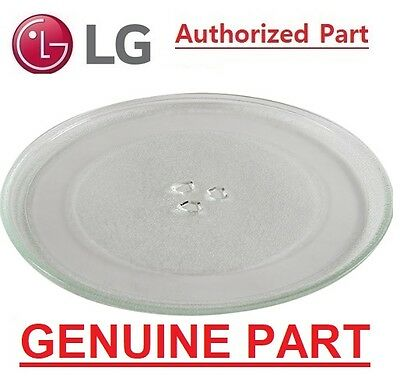 Lg Genuine  Microwave Glass Plate Part No.ms3882Xrsk Ms4040Srb Ms4042Gr