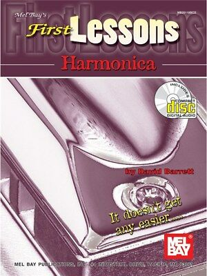 First Lessons Harmonica. Sheet Music, CD
