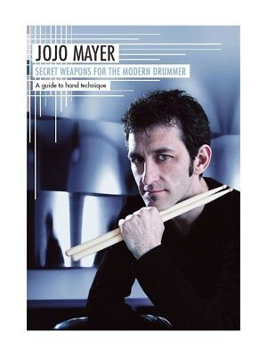 Jojo Mayer: Secret Weapons For The Modern Drummer -.... Drums 2 x DVD (Region 0)