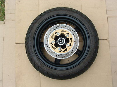 Daelim S1 125 Front Wheel + Tire + Disc Good Cond