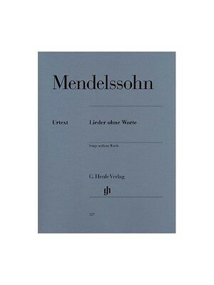 Felix Mendelssohn: Songs Without Words. Piano Sheet Music