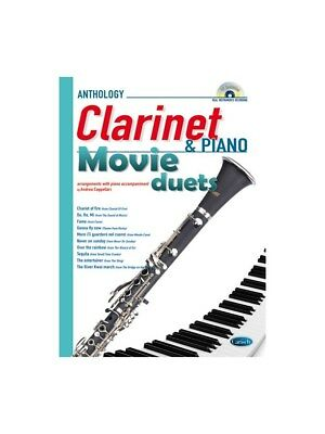 Movie Duets for Clarinet & Piano. Sheet Music, CD
