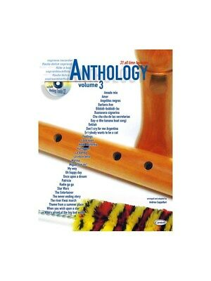 Anthology (Soprano Recorder), Vol.... Soprano (Descant) Recorder Sheet Music, CD