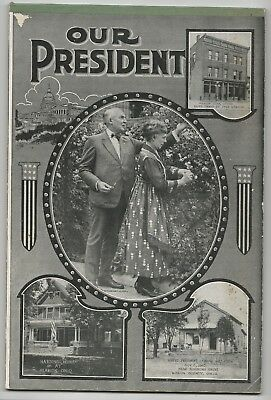 Rare Lined Tablet Warren Harding Our President Scenes from Marion, O Wife Cover