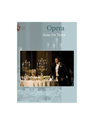 Opera: Arias for Tenor. Piano & Vocal Sheet Music