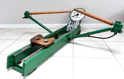 Antique Rowing Machine ...circa 1940  vintage Bencowat Indicator rowing machine