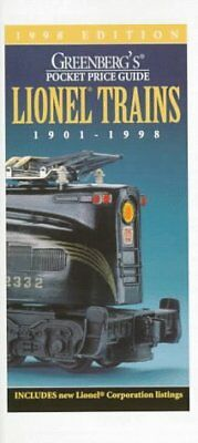 Greenbergs Pocket Price Guide Lionel Trains 1901-