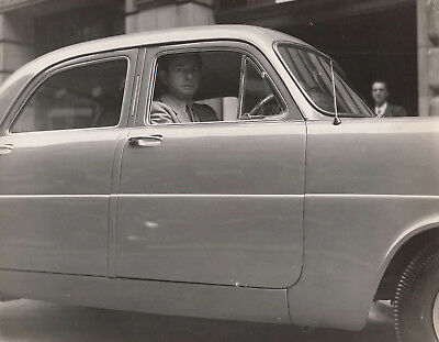 Raymond Mays Ford Four Door Saloon Photograph.