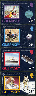 Great Britain-Guernsey 449-52 MNH - Europa 1991