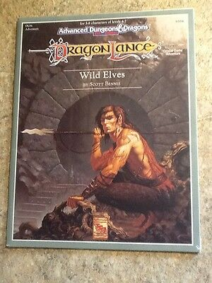 TSR Dragonlance Wild Elves DLS4 NEW SHRINK WRAPPED Advanced Dungeons & Dragons