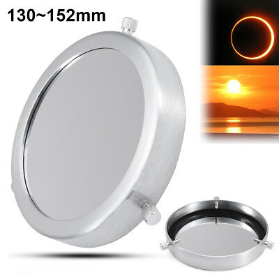 1 Pcs 130~152 mm Solar Filter Baader Film Metal Cover For Astronomical Telescope