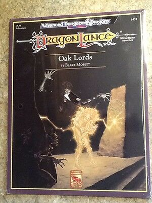 TSR Dragonlance Oak Lords DLS3 Advanced Dungeons & Dragons NEW SHRINK WRAPPED