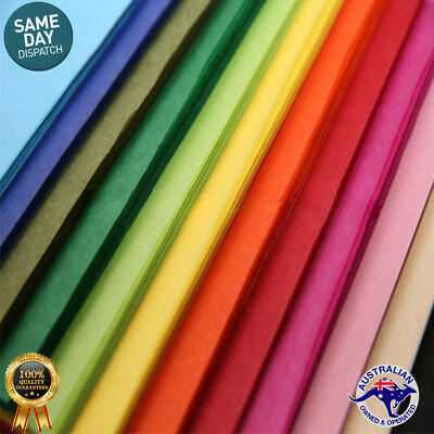 Acid Free Tissue Papers Mixed CHRISTMAS COLORS  21gsm Gift Wrap - Premium Qlty