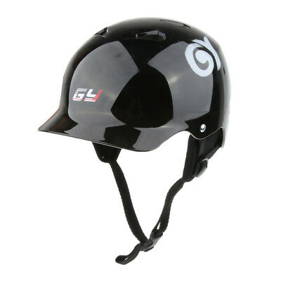 S/M/L Black Safety Vents Water Sports Helmet Wakeboarding Kayaking Rafting