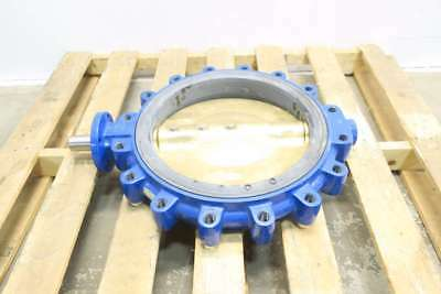 New Keystone Ar2 18 In Iron Flanged Butterfly Valve D578977
