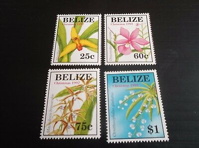 Belize 1997 Sg 1222-1225 Christmas Mnh