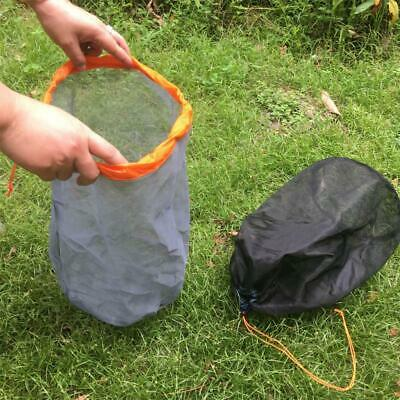 XL/XXL Travel Camping Ultra-light Mesh Stuff Sack Drawstring Storage Bag