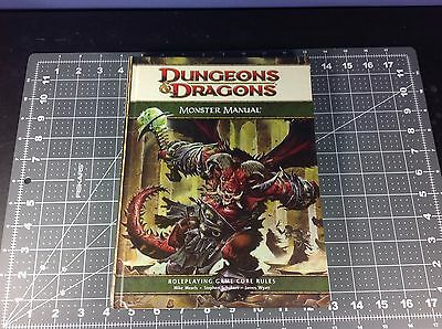 D&D : Dungeons and Dragon : Monster Manual