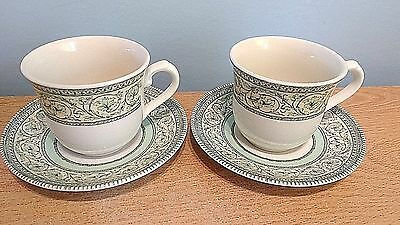 RHS Applebee Collection 2 x Coffee Cups and Saucers. Excellent Condition.
