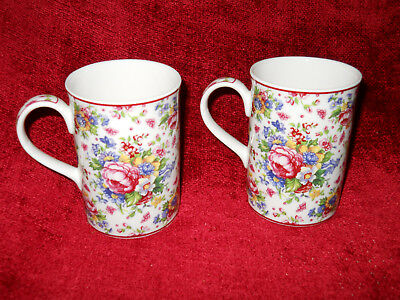 Royal albert Lady Carlyle Afternoon tea II set of 2  mugs