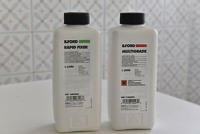 ILFORD Multigrade revelador+rapid fixer 1L (10 )