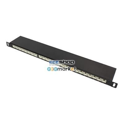 Good Connections GC-N0013 0.5U patch panel Ethernet GC-N0013