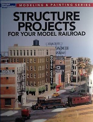 """Kalmbach Book """"Structure Projects For Your Model Railroad"""" Item 12478"""