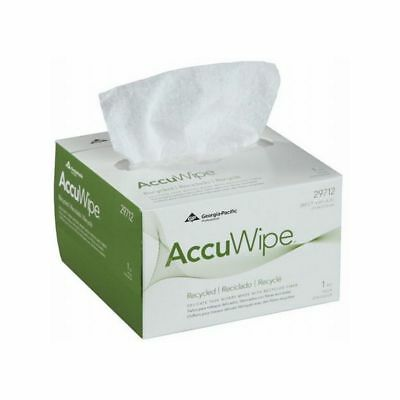 Georgia Pacific AccuWipe Recycled Delicate Task Wiper Pop-Up 1-Ply, White 280/Cs