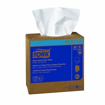 SCA Tork 450 Double Recrepe Wiper, Pop-Up , White, 10 Bxs of 90 Wipers, 900/Box