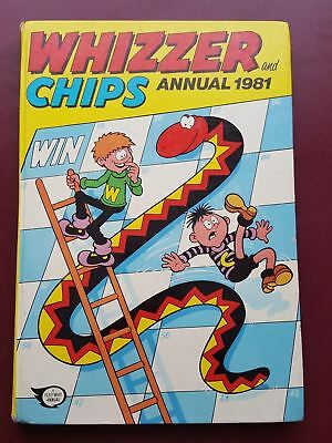Whizzer and Chips Annual 1981 - Hardback Book