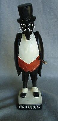 VINTAGE OLD CROW KENTUCKY BOURBON WHISKEY  FIGURE 16 in tall