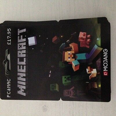 Minecraft - PC/Mac Full Game License key - 17.95 RRP - ALL versions of Windows