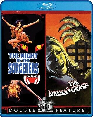 THE NIGHT OF THE SORCERERS + THE LORELEY'S GRASP New Blu-ray Double Feature