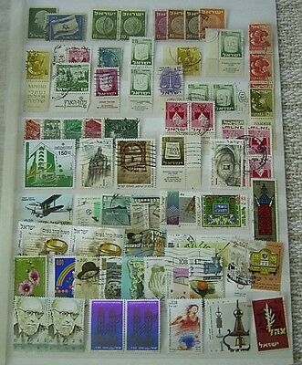 Israel Used Stamp Selection