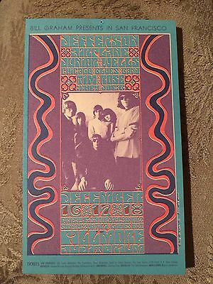 Jefferson Airplane BG 42 Handbill Fillmore Wes Wilson Bill Graham